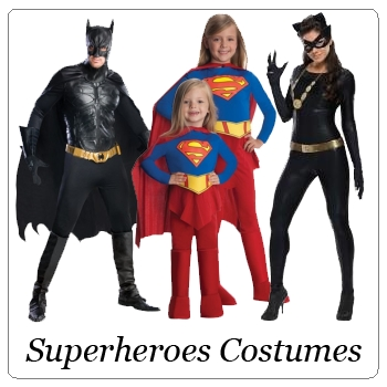 Superheroes Group Costumes